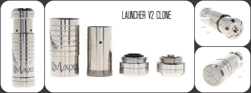 Launcher V2 E-Cig Mod Clone