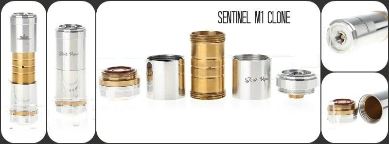 Sentinel M16 e-Cig Mod Clone