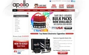 Apollo E-Cigs Online Vape Shop