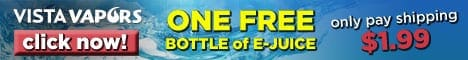 Free E-Liquid Offer