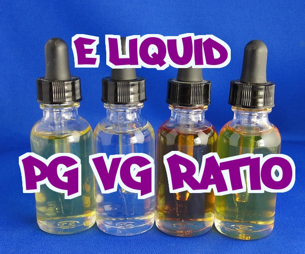 Best E-Liquid PG/VG Ratio e-juice