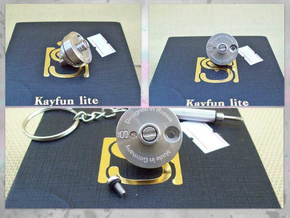 Base of Kayfun Lite Plus V2