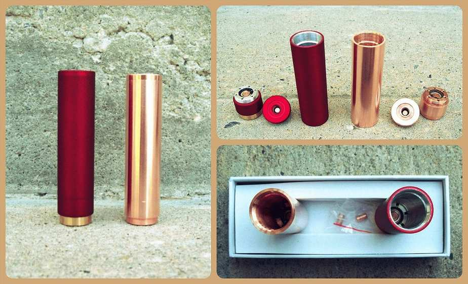 Red and copper Manhattan Mod