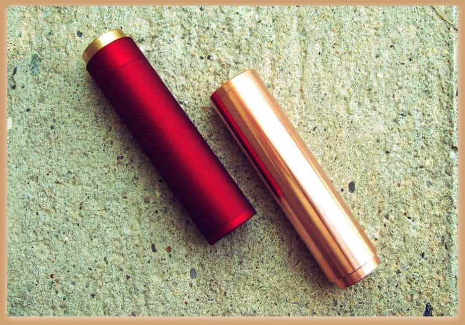 Copper and red Manhattan mod on side