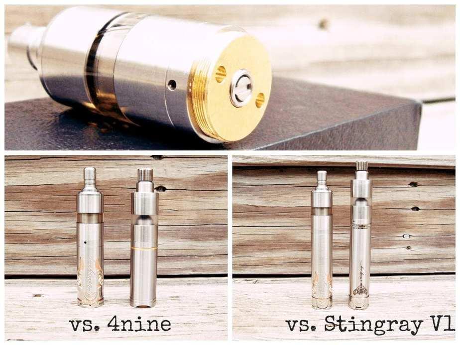 $nine mod compared to Stingray X