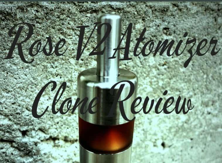 Roze V2 Atomizer Clone Review