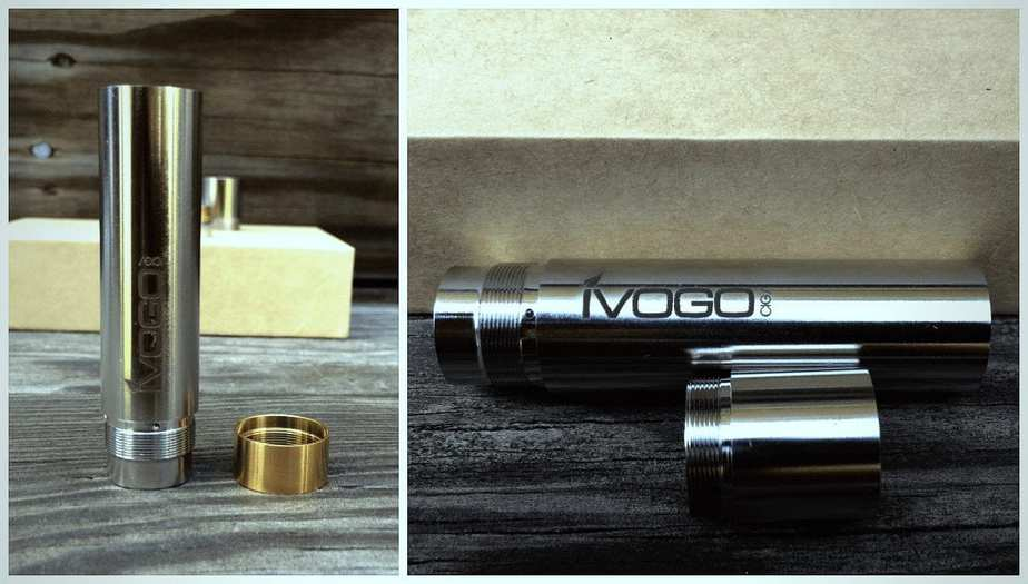 ivogo engraved logo on mod