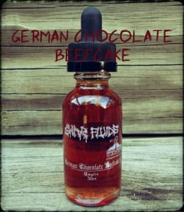 German Chocolate Beefcake E-Liquid Review