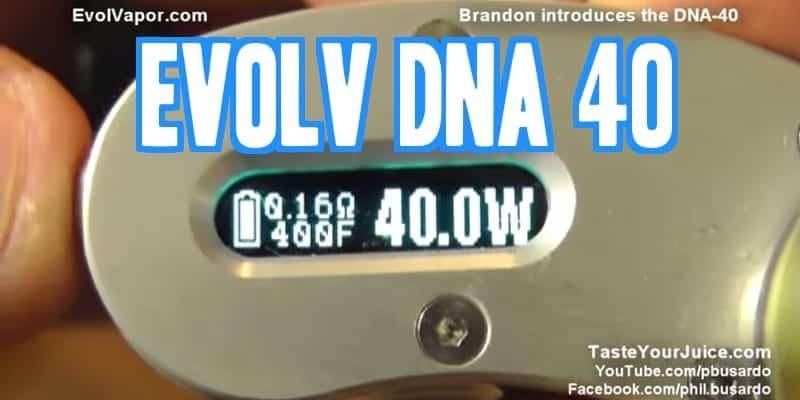 Evolv DNA40 Chip-set