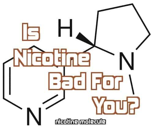Is nicotine bad image