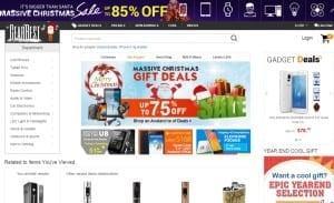Gearbest.com Homepage