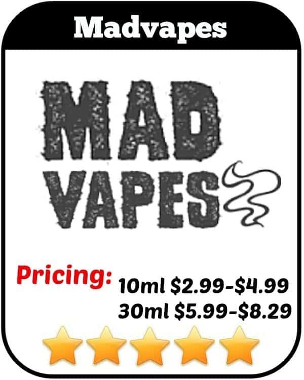 Madvapes Review - North Carolina Based E-Cigs Company