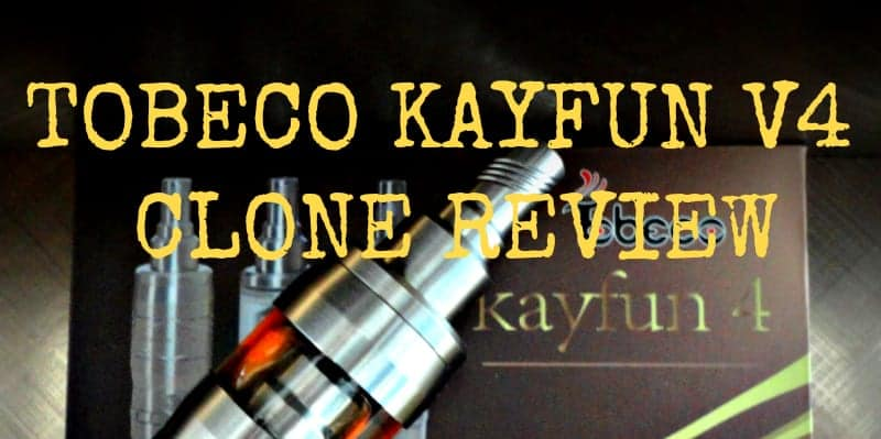 Tobeco Kayfun V4 Review