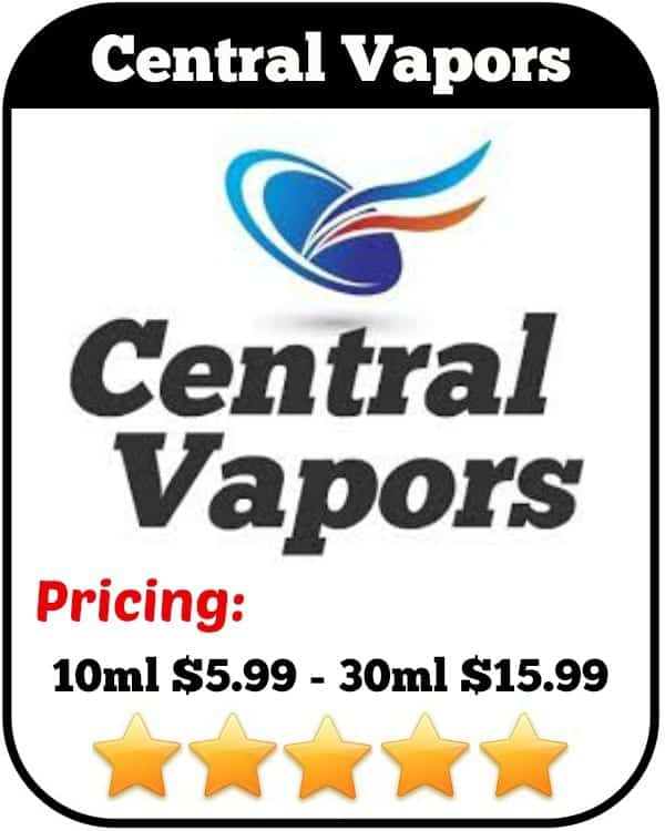 Central Vapors eJuice