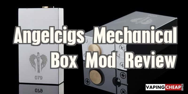 Angelcigs Mechanical Box Mod Review