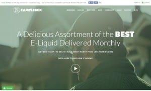zamplebox Website