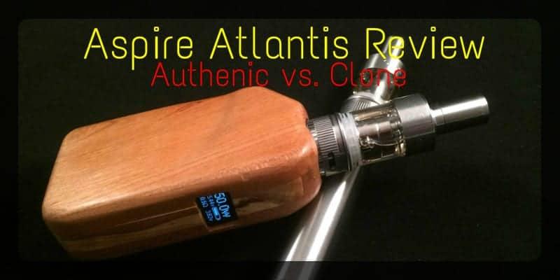 Aspire Atlantis Clone review