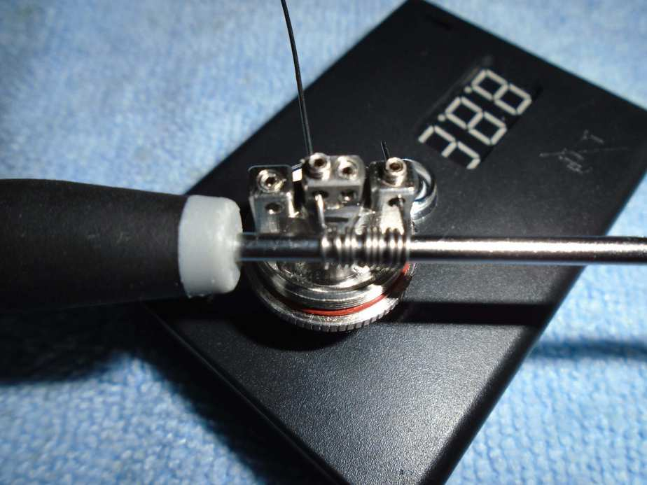 Installing your RDA coil builds