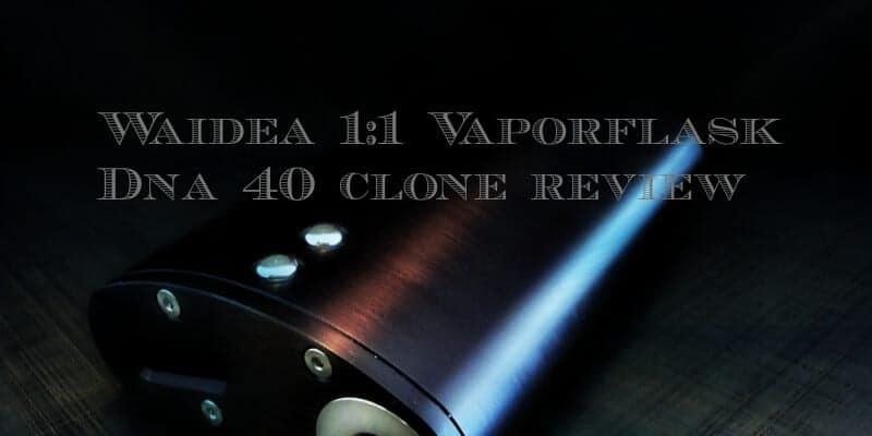 Waidea 1:1 Vaporflask DNA 40 Clone
