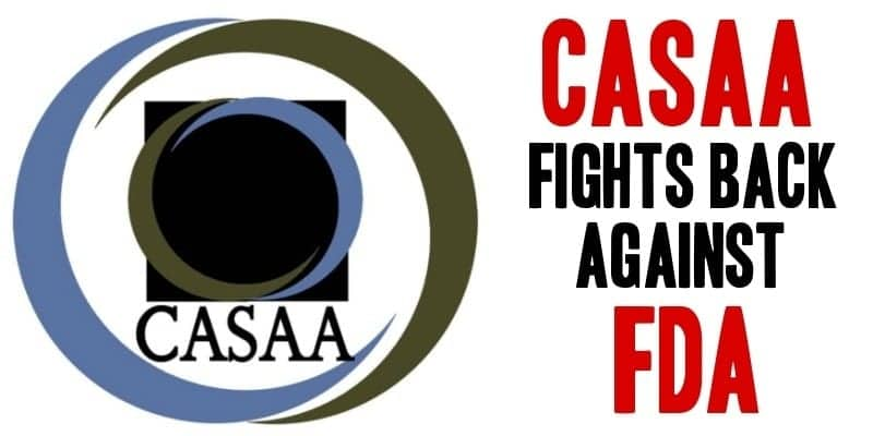 CASAA Fights FDA
