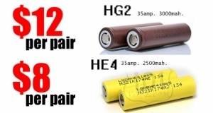 101Vape Battery Sale
