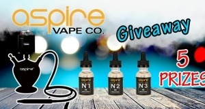 Aspire Vape Co. Giveaway