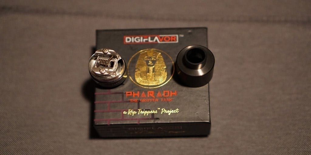 Digiflavor Pharaoh Dripper Tank Review