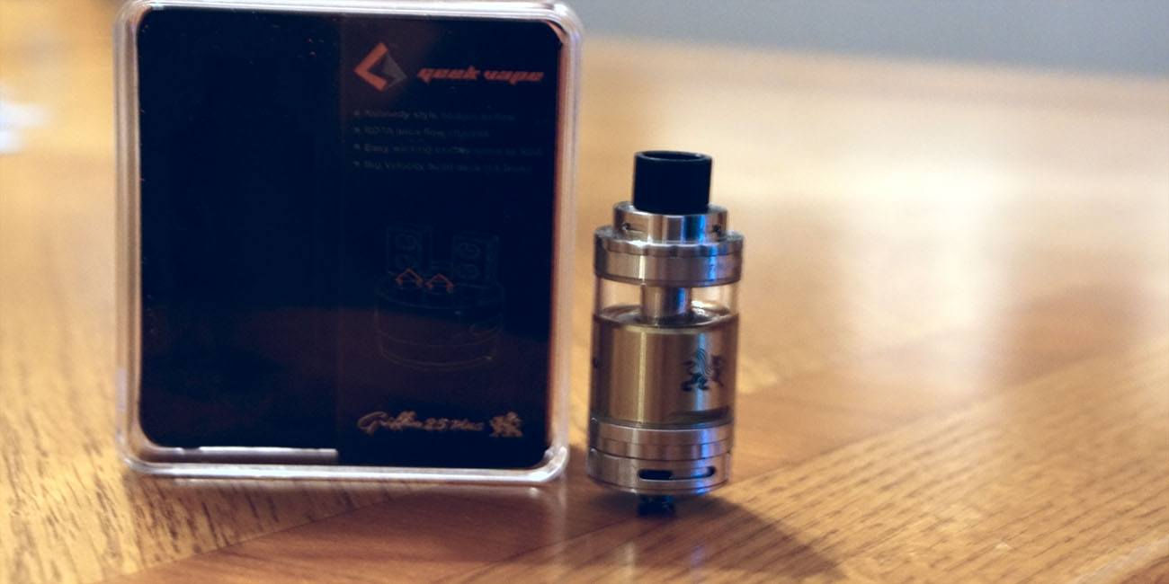Geekvape Griffin 25 Plus RTA Review