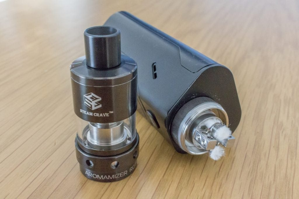 Steam Creave Aromamizer RDTA V2 Anniversary Edition Review