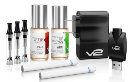 E Liquid Starter Kit with EX Series Cartomizers
