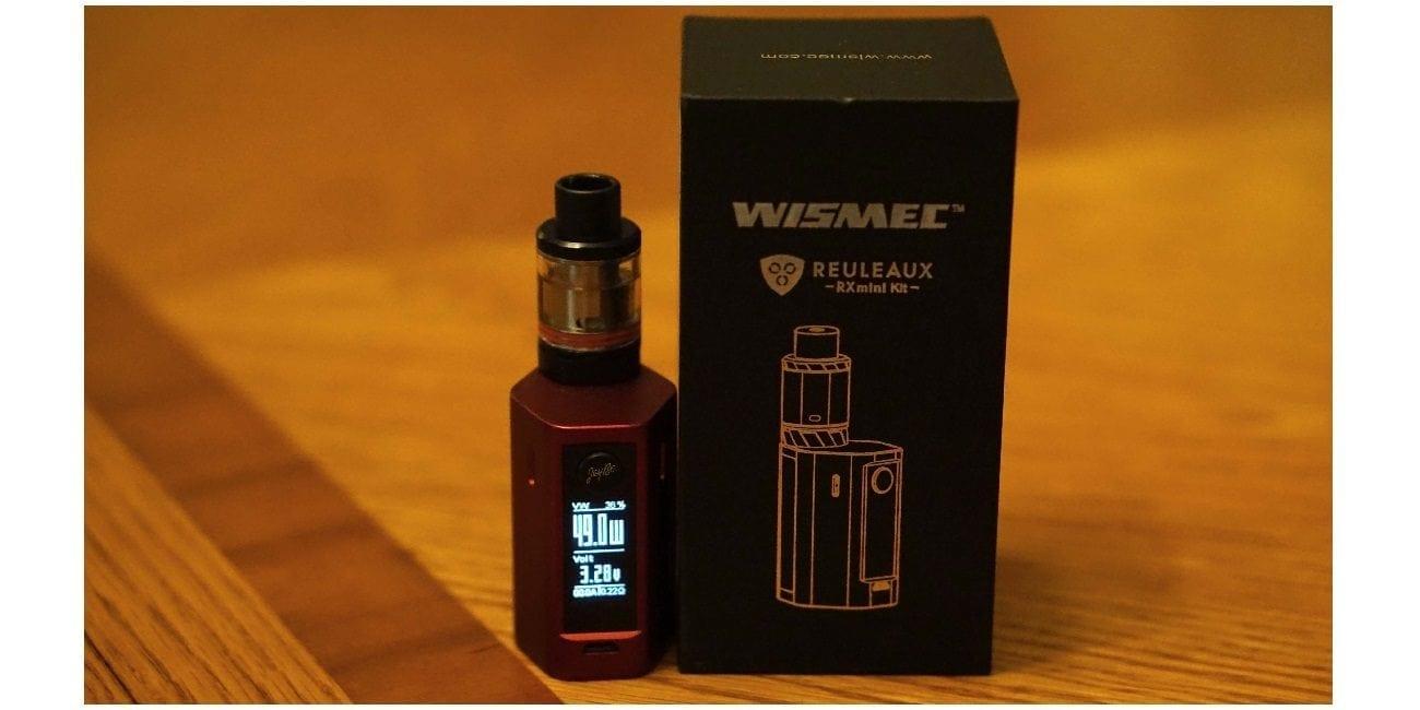 Wismec Reuleaux Rxmini Kit Review