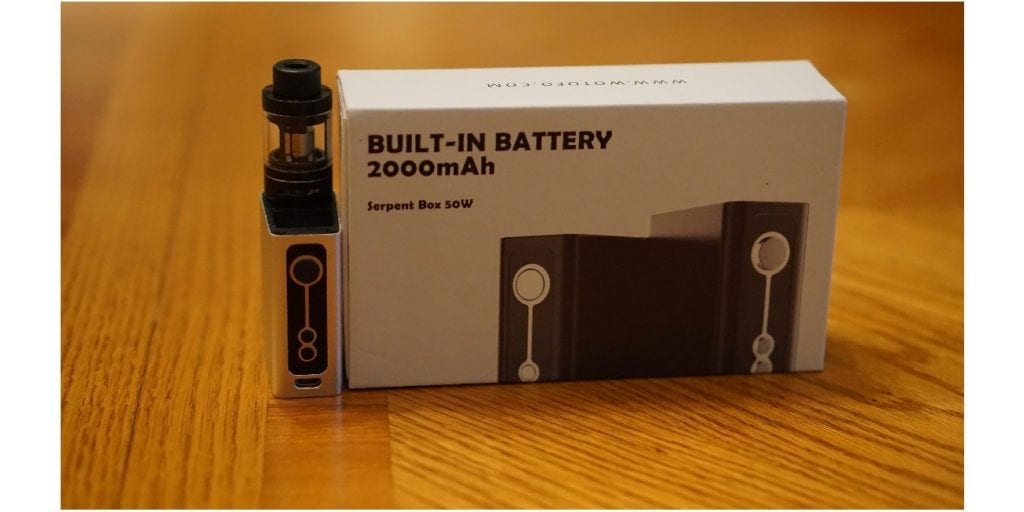 Wotofo Serpent 50w TC Full Kit Review