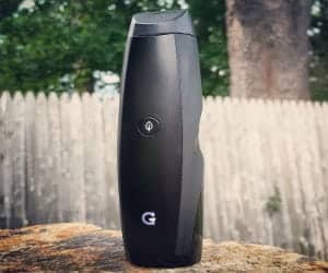 g-pen device on a backyard