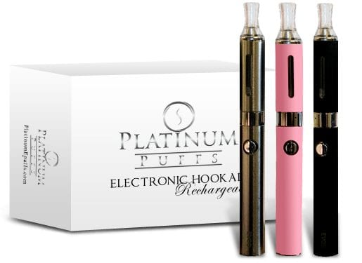 platinum rechargable e hookah big