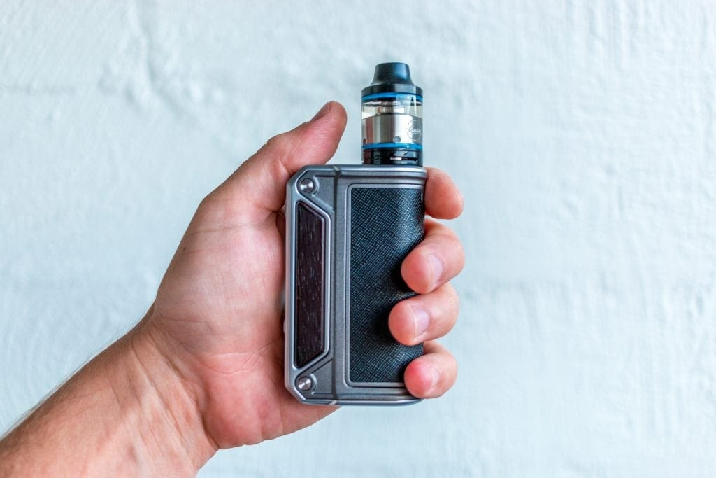 Lost Vape Therion DNA166 Review