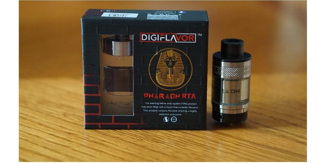 Digiflavor Pharaoh RTA Review