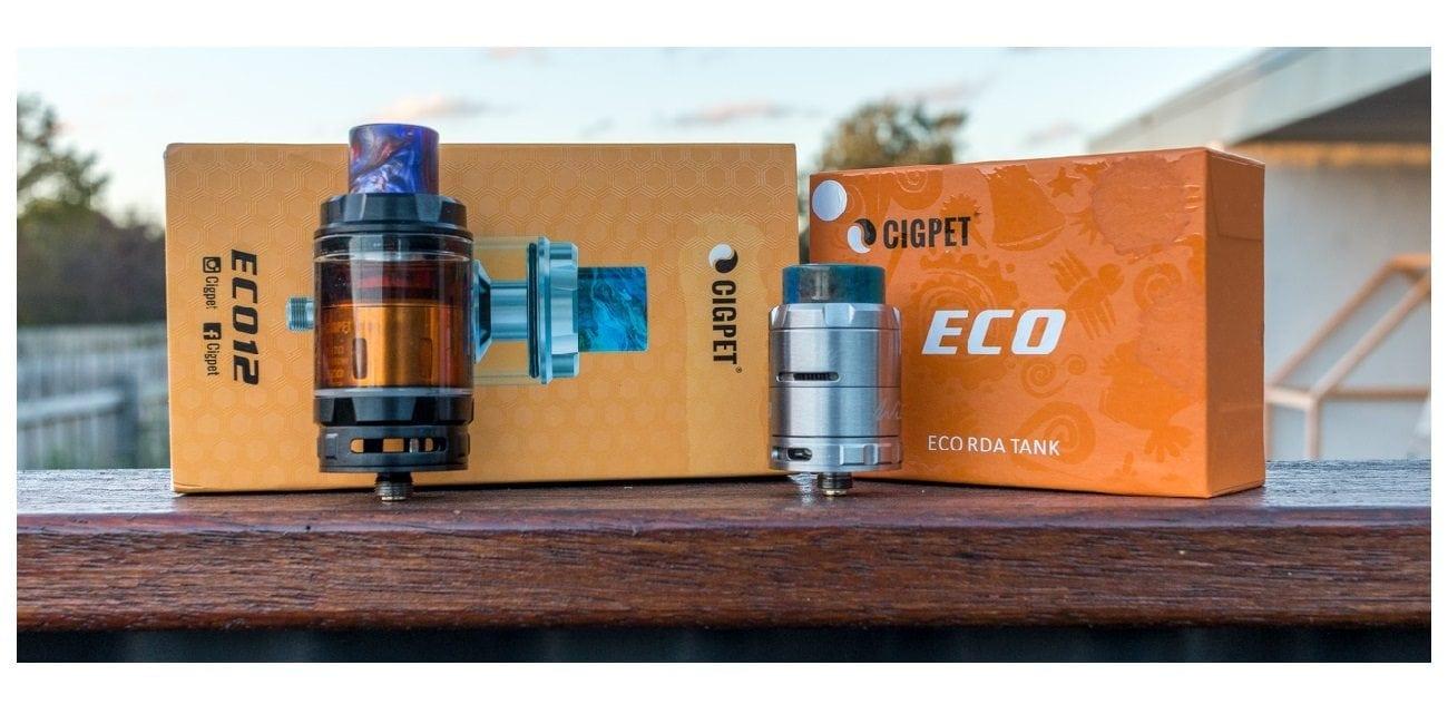 Cigpet Eco12 & Eco RDA Review