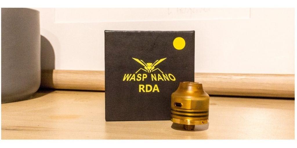 Oumier Wasp Nano RDA Review