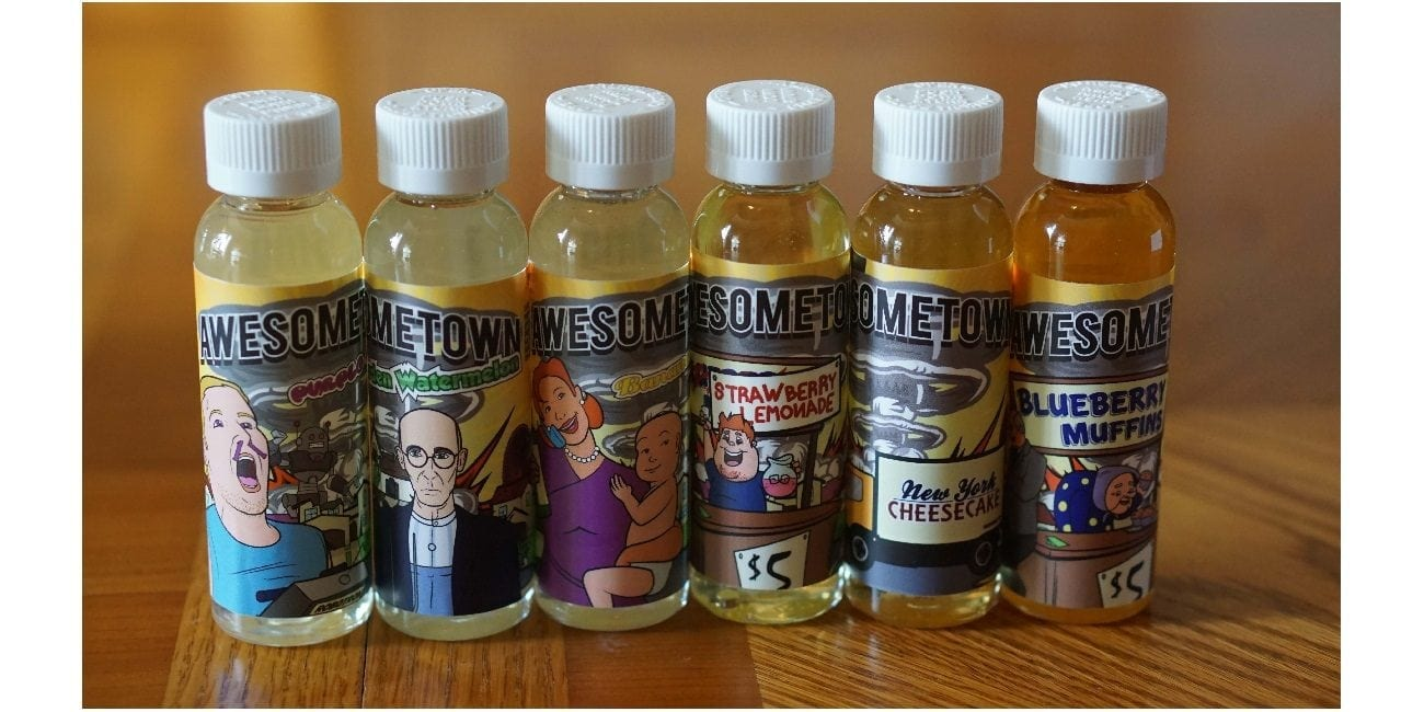 Awesometown E-Juice Review