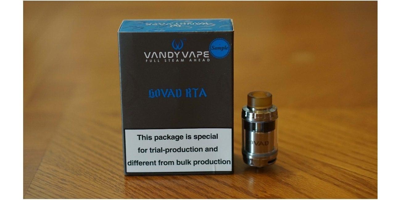 Vandy Vape Govad RTA Review