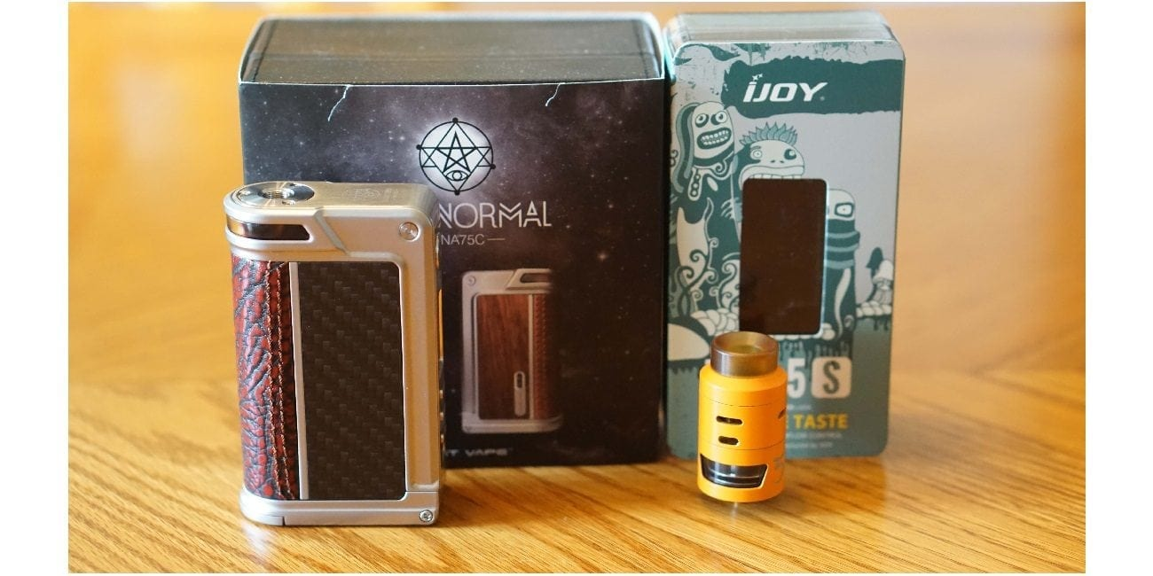 Lost Vape Paranormal & IJoy RDTA 5S Review