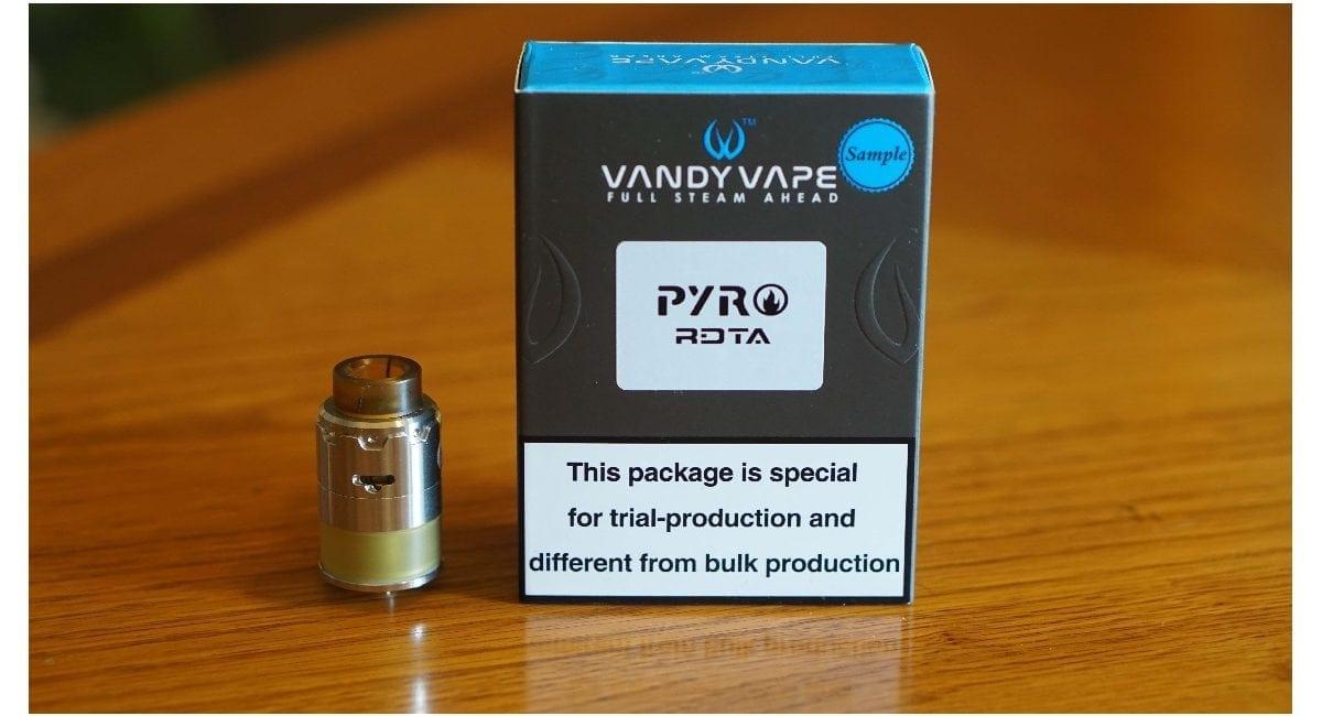 Vandy Vape Pyro RDTA Review