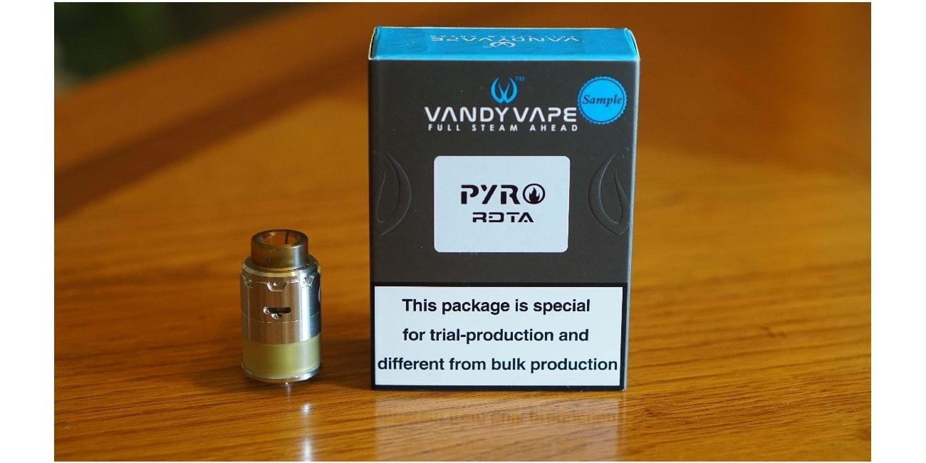 Vandy Vape Pyro RDTA Review