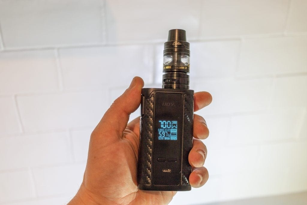 234W IJOY Captain PD270 with Captain S TC Kit Review