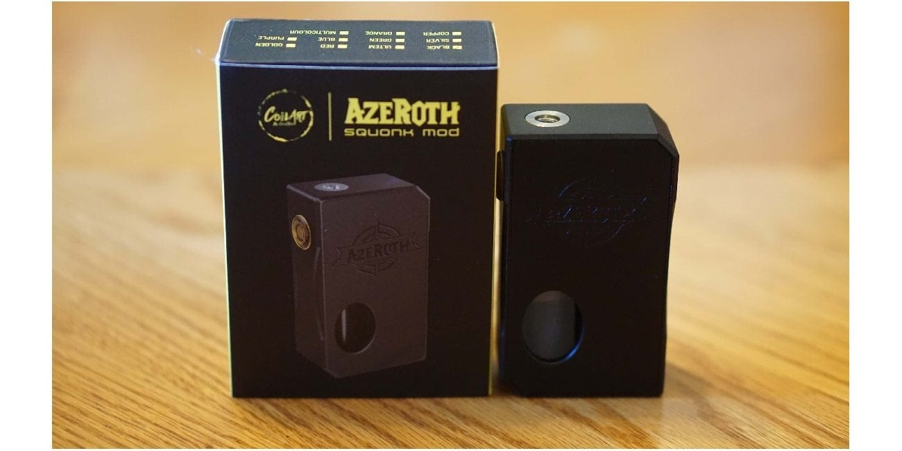 CoilART Azeroth Squonk Mod Review