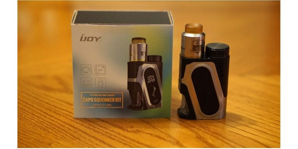 IJoy Capo 100w Squonker Kit Review | Worth the Hype