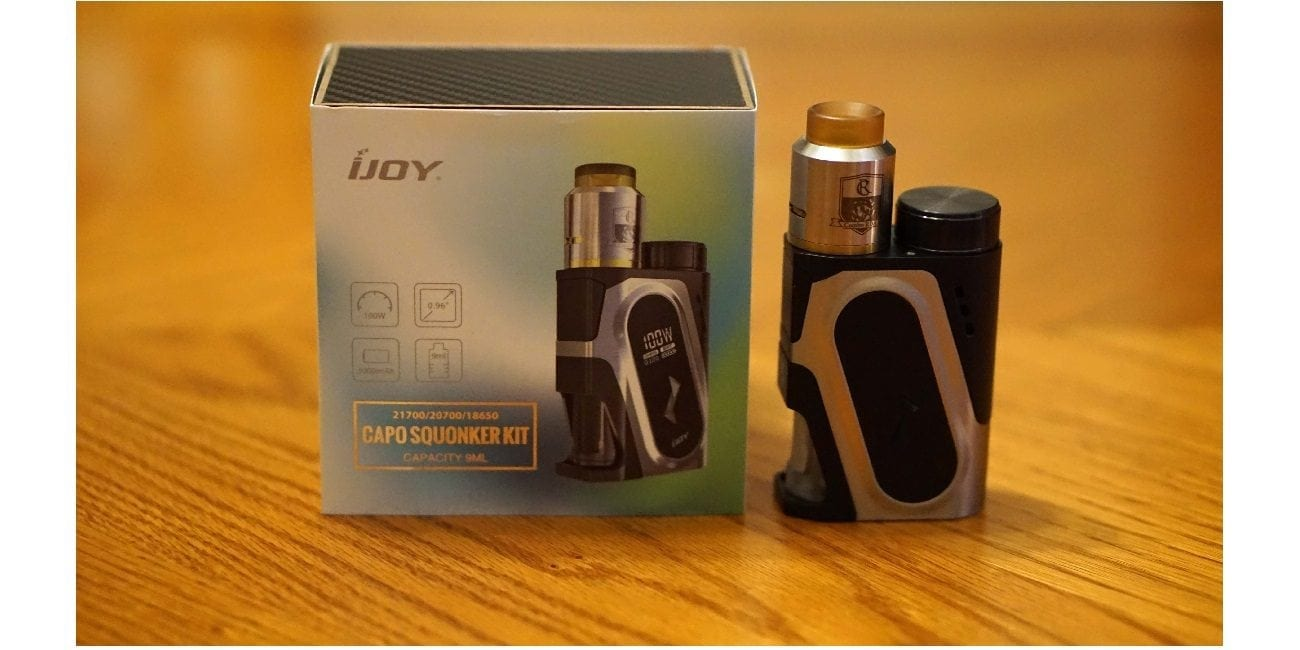 IJoy Capo 100w Squonker Kit Review