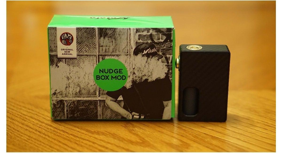Wotofo Nudge Squonk Box Mod Review
