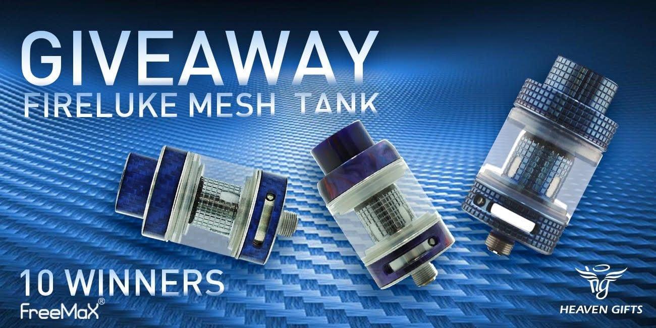 Heaven Gifts Freemax Fireluke Mesh Tank Giveaway! 10 ...