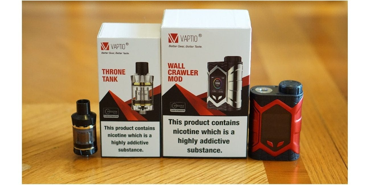 Vaptio Wall Crawler Kit Review